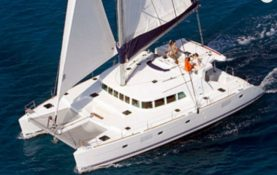 Yacht Rentals in Cancun private Catamaran charter in cancun luxury charter puerto aventuras puerto morelos holbox isla mujeres contoy island large charter over the Mexican Caribbean private luxury service catamaran charter open bar Puerto Aventuras