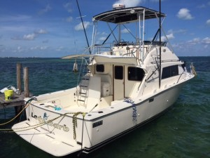 fishing yacht in Cancun rentals