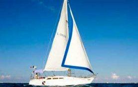 Yacht rentals in Cancun, sailboat Jeanneu 40 feet, romantic dinner, sunset cruise, long charter, sleep on board, sailboat, cancun, isla mujeres
