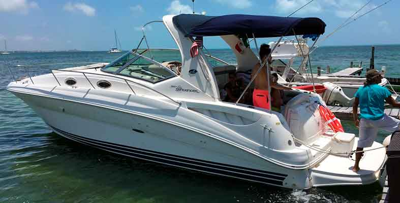 Sea Ray 32 Ft Yacht Rentals Cancun Yacht Rentals In Cancun