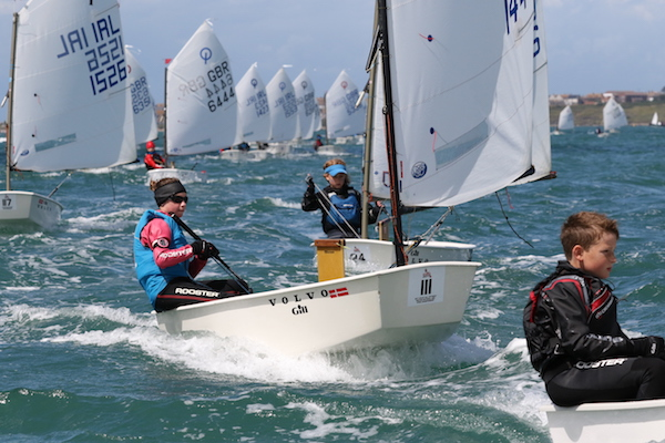 Optimist National Championships Conclude Yachts And Yachting