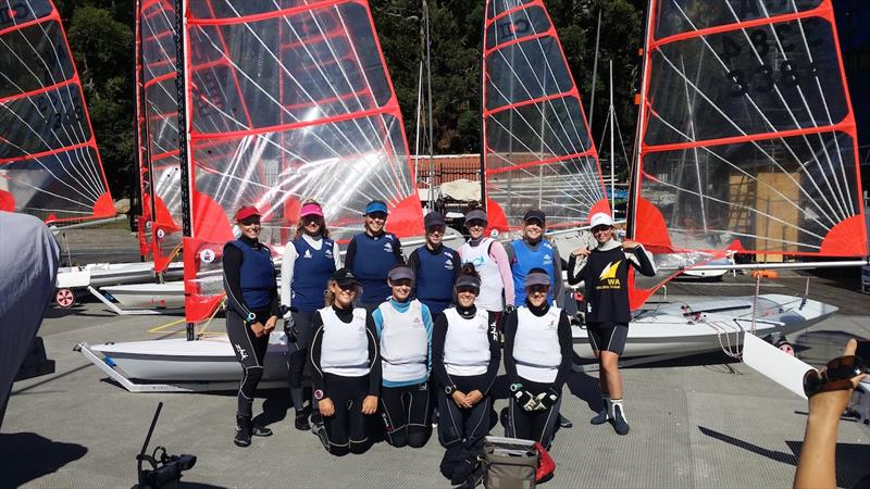 Australian Sailing Radial Development Camp At Middle Harbour