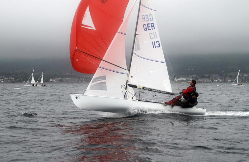 Flying Dutchman World Championships At Largs Sailing Club