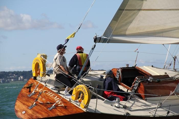 Half Ton Classic Cup At Royal Corinthian Yacht Club Cowes Overall