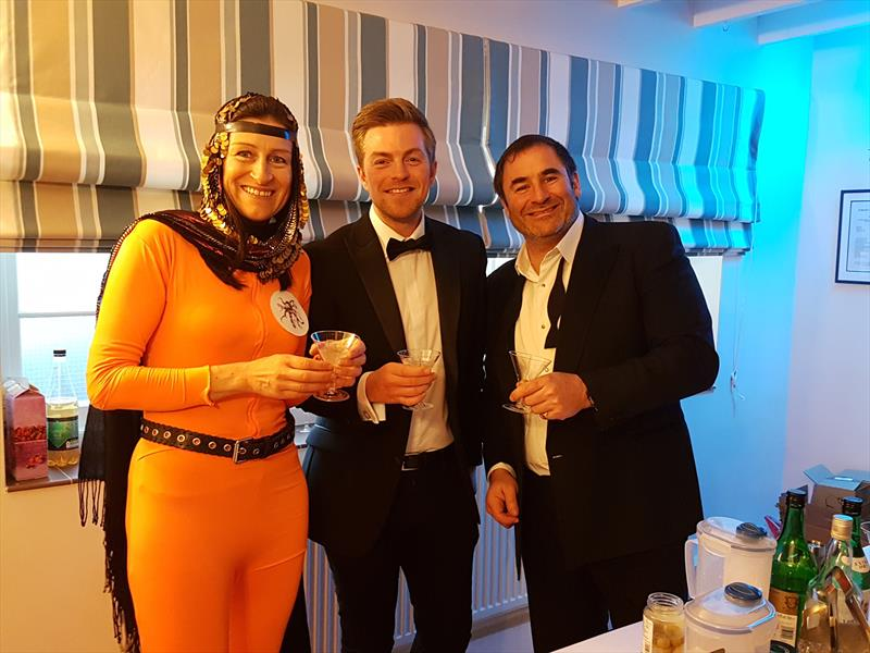 James Bond party during the International 14 Easter Tray at Itchenor - photo © ISC