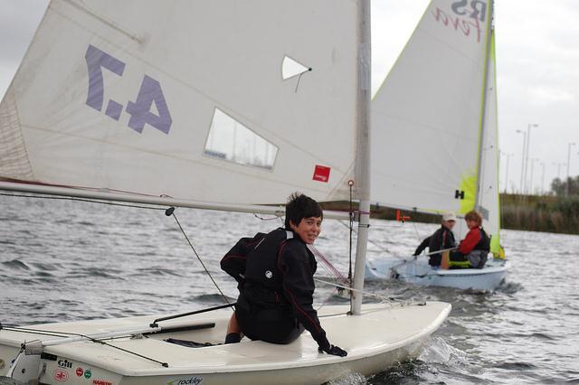 Cadet Regatta At Hunts Sailing Club