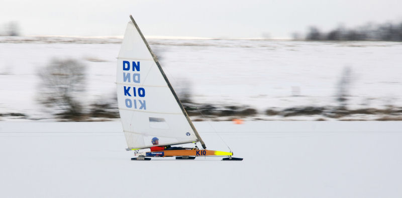 Ice Yachting At Leigh Amp Lowton Sailing Club