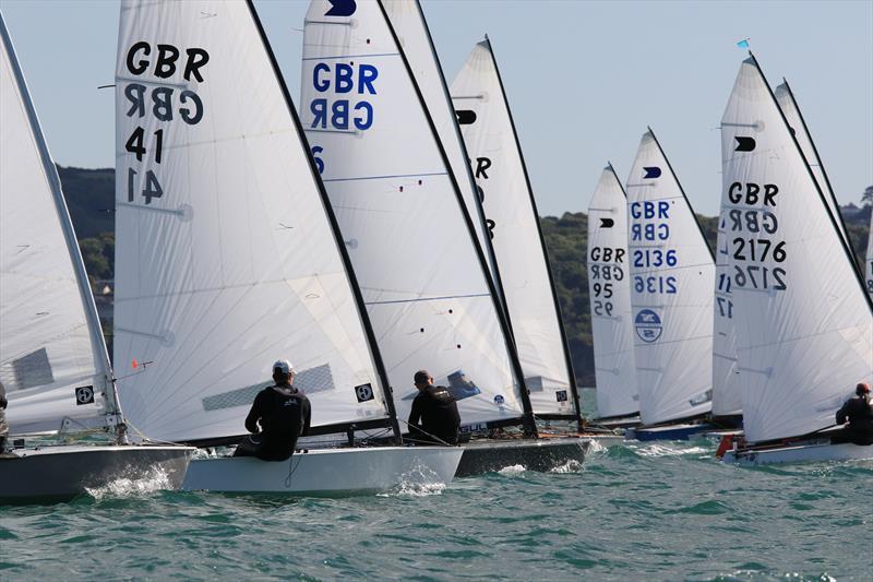Ovington Boats International OK Dinghy UK Nationals At