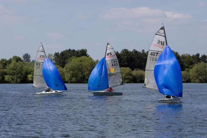 Find the best downwind angle during the RS Vareo Inlands at the Illuminis Asymmetric Regatta - photo © Kate Everall Photography