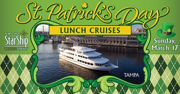 TICKETS St Patricks Day Cruises Yacht StarShip