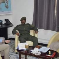 مدير أمن عدن يلتقي رئيس لجنة الصليب الأحمر الدولي ونائبه في عدن