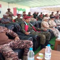 معسكر رأس عباس التدريبي يشهد حفل تخرج الدفعة الحادية عشر من قوات الامن