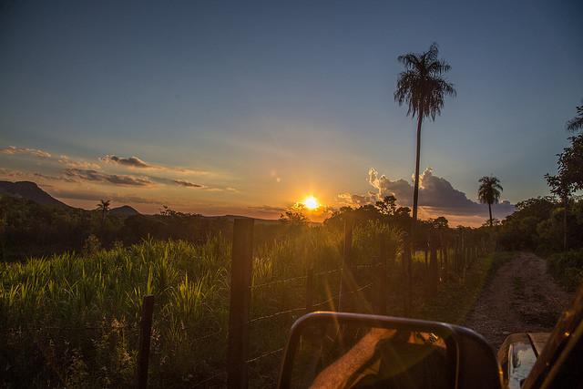 Paraguay Landscape Twilight