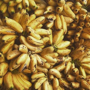 Yellow Bananas in Bolivia