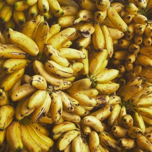Yellow Bananas in Bolivia