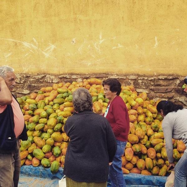 Papaya Samaipata Market