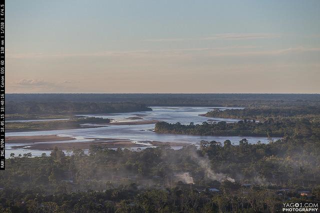Rurrenabaque Rio Beni Landscape