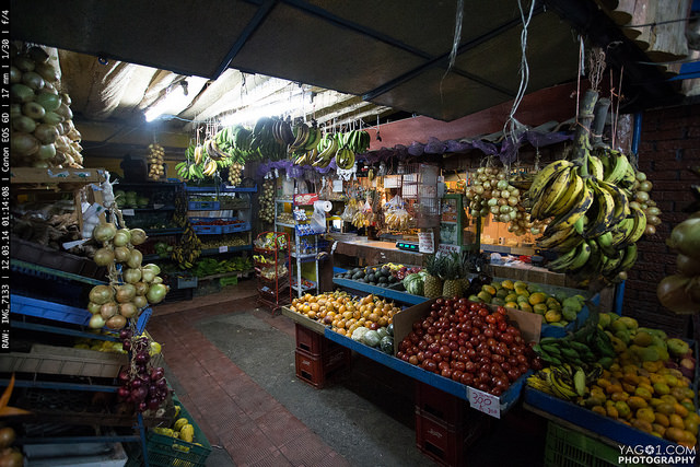 Costa Rica Fresh fruits in Cartago Province