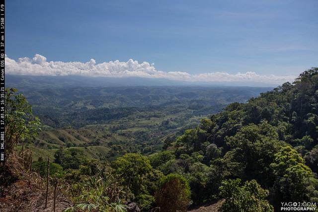 Landscape in Sabanilla Puntarenas Costa Rica