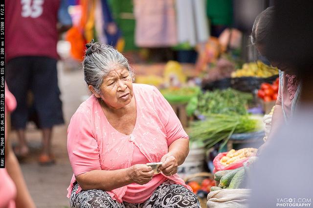SantaCruzBolivia Old Lady Market