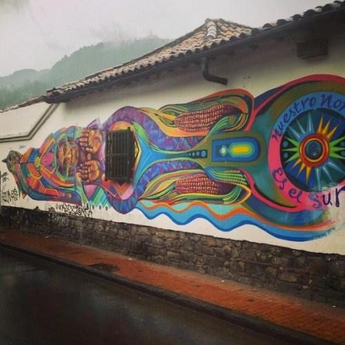Bogota Colombia Art Grafitti 1