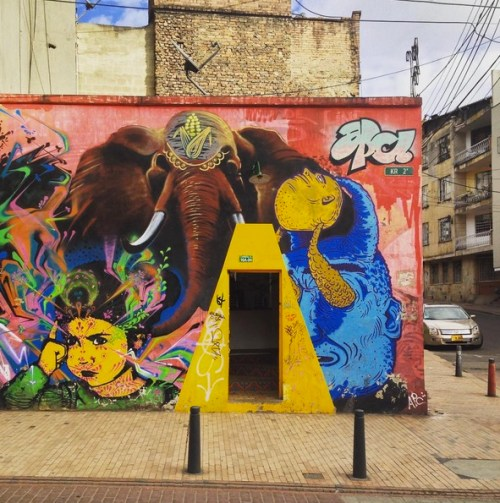 Bogota Colombia Art Grafitti 8