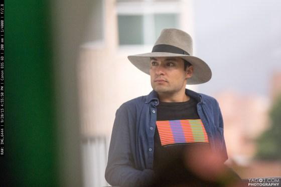 Candid Portrait in Medellin Colombia