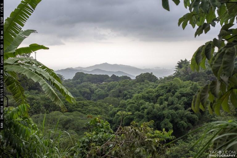 Santa Marta Coast Layers View from Minca Colombia