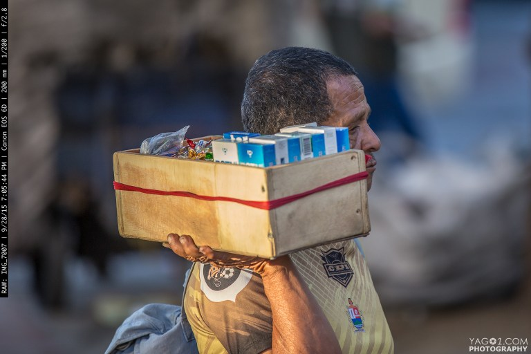Street Vendor in Medellin Colombia