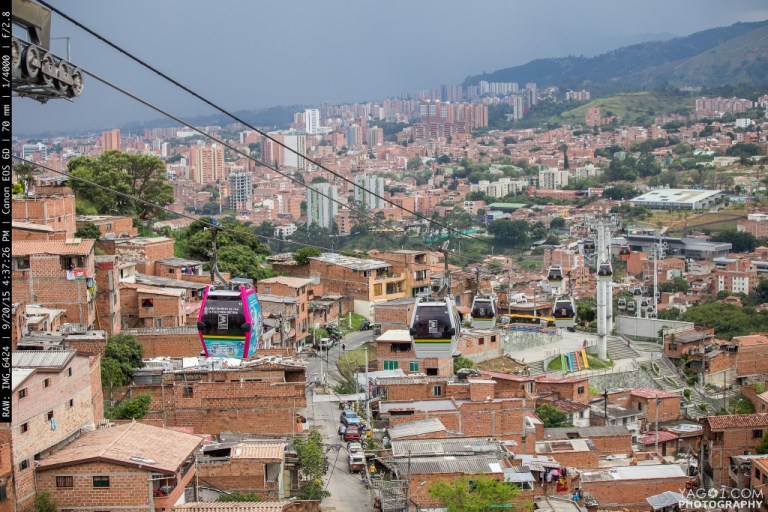 The Faboulos Metropolis of Medellin in Colombia