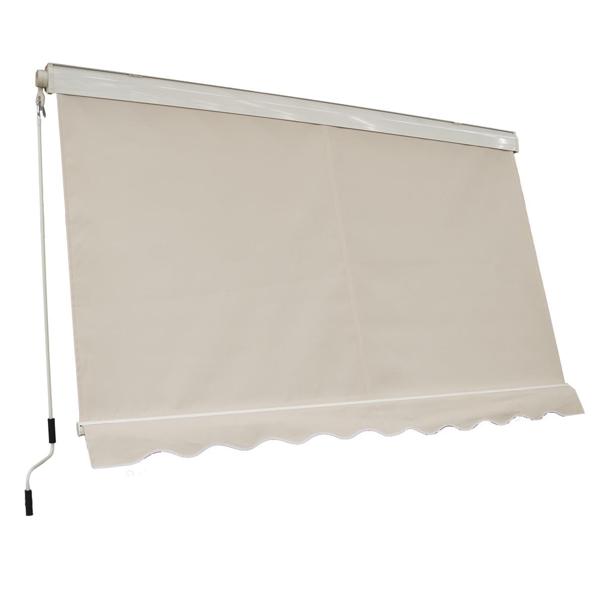 La più apprezzata, nella vasta gamma di tende a caduta proposte da facchetti srl. Tenda Da Sole A Caduta Con Cassonetto 250x250 Cm
