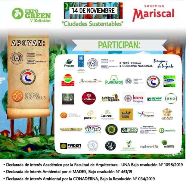 """expo green 2019 """" ciudades sustentables"""""""
