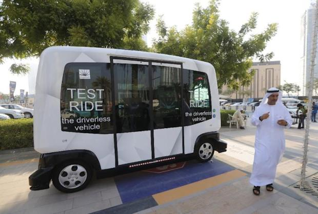 Dubai has launched a driverless ten-seater minibus service on a trial basis for a month