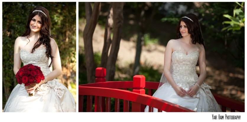 Altadena Cuntry club wedding-bride-flower