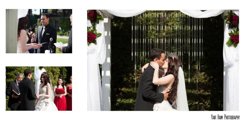 Altadena Cuntry club wedding ceremony