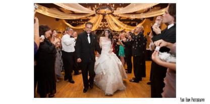 Altadena Cuntry club wedding-exit