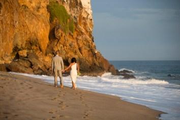 Point Dume Malibu wedding