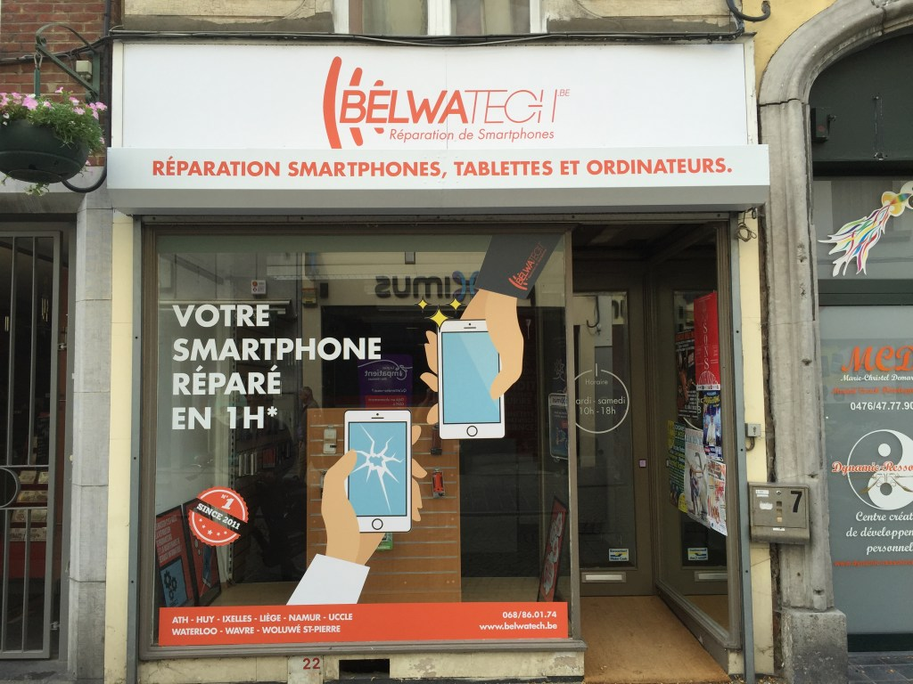 impression et placement Belwatech