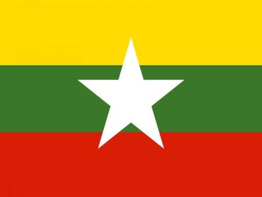 Drapeau Birmanie Myanmar