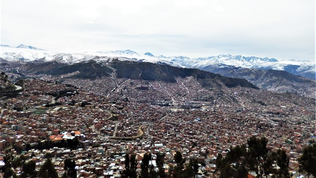 Bolivie La Paz El Alto Cordillère