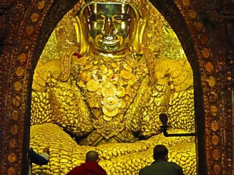 Myanmar Mandalay pagode Mahamuni