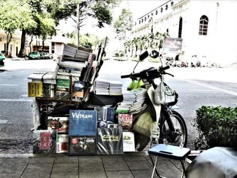 Vietnam Ho-Chi-Minh ville librairie
