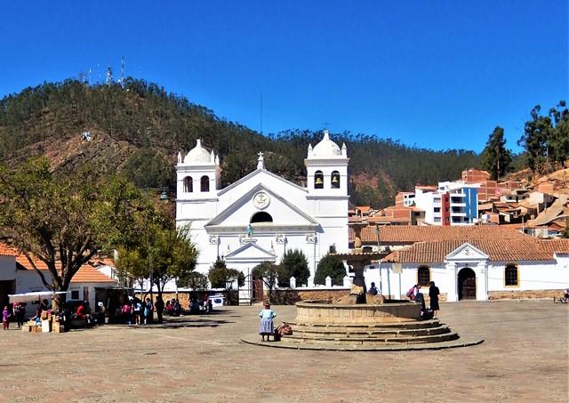 Bolivie Sucre mirador de la Recoleta