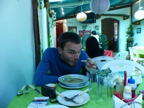 Bolivie Sucre restaurant