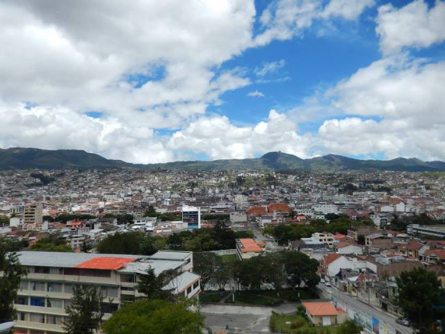 Equateur Loja mirador
