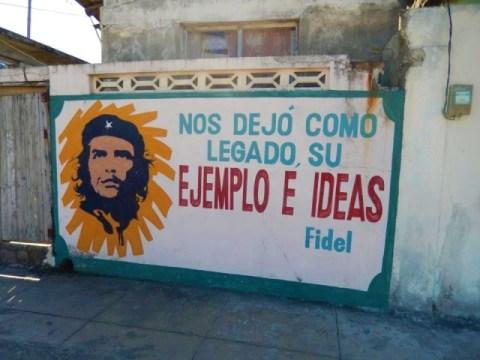 Cuba Baracoa Che Fidel