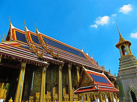 Thaïlande Bangkok Grand Palais Wat Phra Kaeo