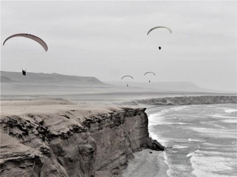 Pérou Paracas parapente