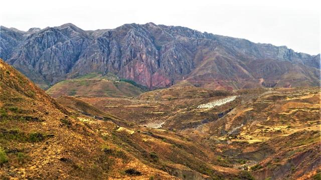 Bolivie Cratère de Maragua