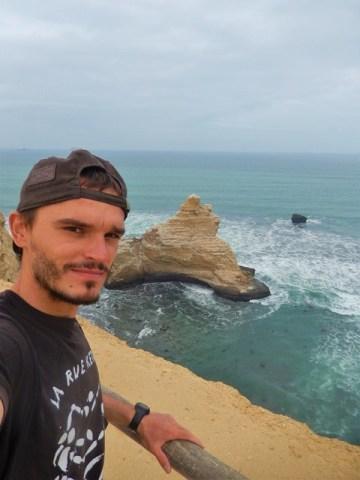 Pérou Paracas falaise